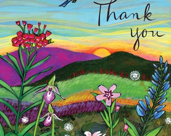 Greeting Card : Thank You