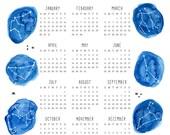 2017 Constellation Calendar