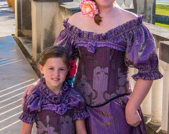Mommy and Me, Summer Princess Costume, Purple