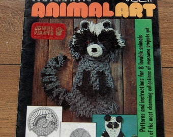 Vintage macrame patterns ANIMAL ART vol 2