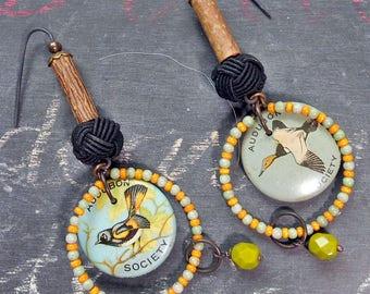 Sweet Birds Dangle Earrings