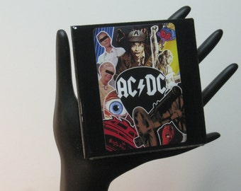 AC/DC Limited Edition Collector Card Drink Coaster