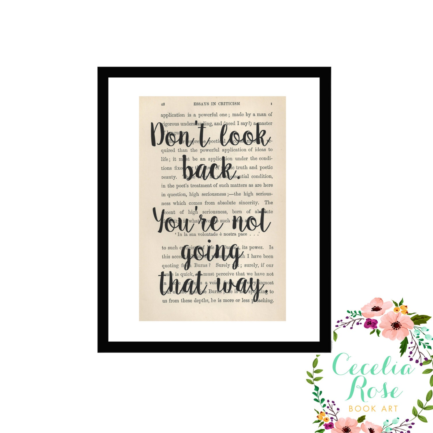 Don T Look Back You Re Not Going That Way: Don't Look Back, You're Not Going That Way Inspirational