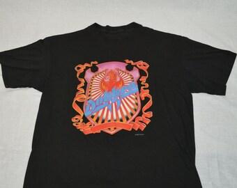 Vintage DOKKEN Heavy Metal Rock Band 80's T-shirt Back for the Attack WORLD Concert Tour Shirt