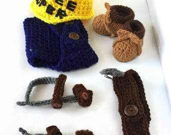 Lineman - Lineman Baby Outfit - Baby Lineman Outfit - Power Lineman - Lineman Wife - Linemen - Lineman Baby - Power Lineman Boots - Prop