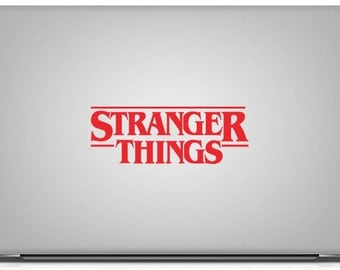 BUY 2 GET 1 FREE Stranger Things Logo Vinyl Decal
