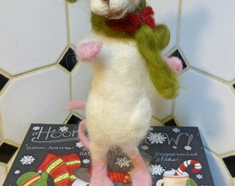 OOAK Needle Felt Mouse by Maure Bausch