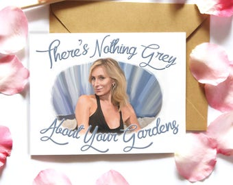 Real Housewives of New York SONJA MORGAN Card RHONY Greeting Card Birthday