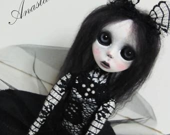 S A L E - Handmade Collectible Unique -OOAK- Clay poseable Art doll -Cary