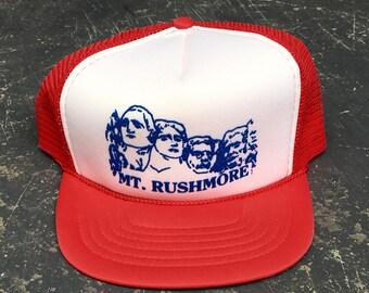 Vintage Mount Rushmore Trucker Hat