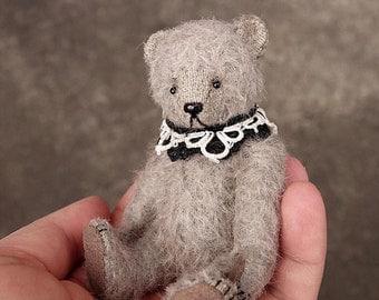 Peiri, Miniature Mohair Artist Teddy Bear from Aerlinn Bears