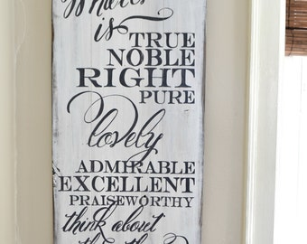 Whatever is reclaimed wood sign