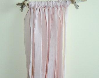 Wall Hanging | Décor | Rose Quartz | Driftwood | Fabric