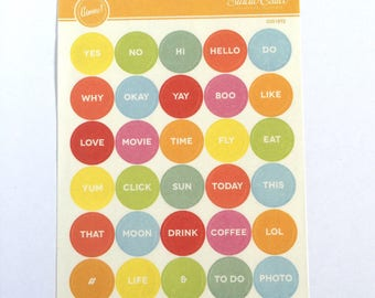 Studio Calico vellum stickers