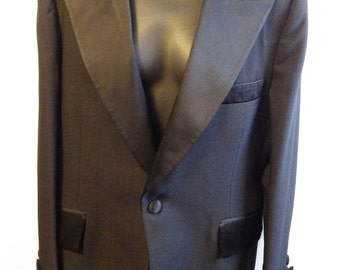 1920s 1930s Double Breasted Tuxedo Jacket Mens size 42
