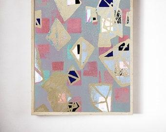 abstract wall art, modern art, scandinavian art, abstract geometric, abstract print, Nordic wall art, art deco, geometric, gold art, art