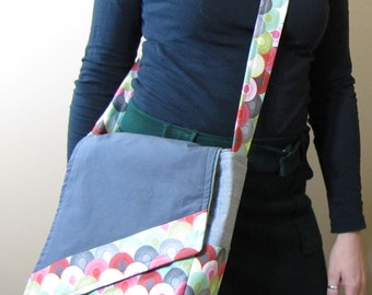 Messenger Bag Slant Chainmail
