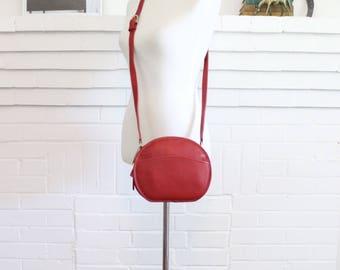 Coach Bag // Chester Crossbody Bag Red with Box // Canteen Handbag Purse