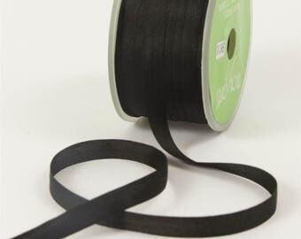 Black Silk Ribbon, small, romantic, beautiful, Weddings, Favors,