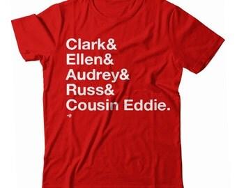 Christmas Vacation Names Tribute UNISEX T-shirt