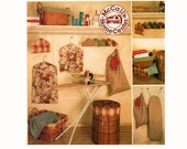 Laundry Essentials Uncut Sewing Pattern Apartment Dorm room Decor McCalls Home Decorating 2784