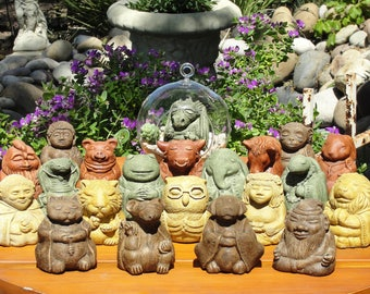SMALL ZEN CREATIONS. New Color Options + Choose Your Sculpture. Indoor Home Office Accents or Outdoor Patio Garden Decor. Made in the U.S.A.