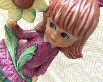 vintage moppet sunflower girl