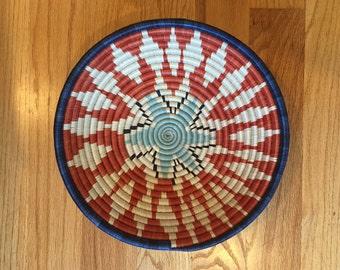 Multicolored Rwanda Peace Bowl - Large - 10% Sale