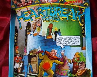 Heartbreak Comics 1984 No 1 First Printing David Boswell Last Gasp Humor Underground Alternative Comix Book