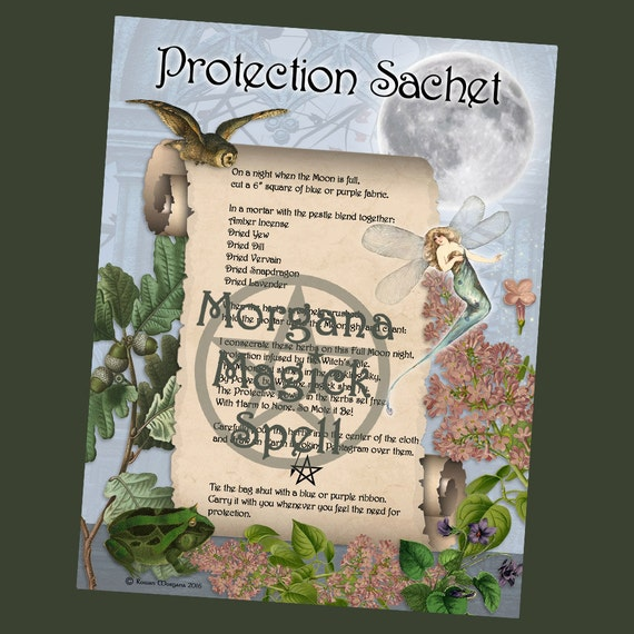 Protection Sachet Spell