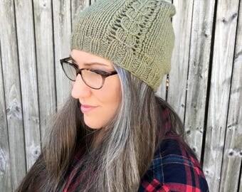 Knitting Pattern ~ All Ages Jefferson Beanie ~ Knitting Pattern