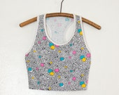 cropped tank top - S/M