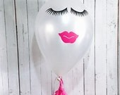 Lips and Lashes Decals Set of 6