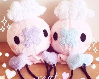 Drifloon plush doll Fluffy Pink Valentine's Day Edition Plushie Toy