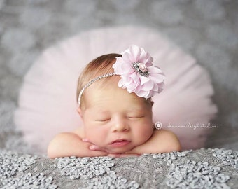 Sweet Sparkle Baby Pink Tutu Pink Newborn Tutu Pink Baby Tutu Tutu Skirt Tutu And Headband Set Tutu Set Baby Photo Prop Newborn Photo Prop