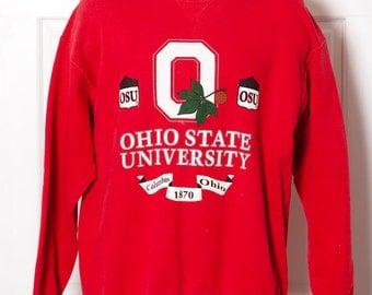 Vintage 90s OHIO STATE University Sweatshirt