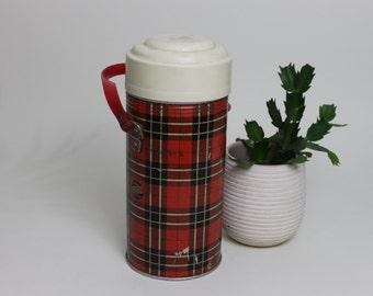 Triunfo Tartan Thermal Flask