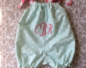 Baby romper personalized baby take home girl clothes baby romper baby shower gift