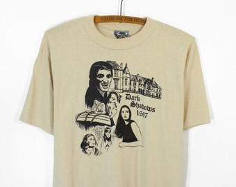 Vintage Dark Shadows Vampire TV Show T-Shirt Men's M