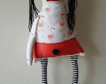 Stuffed Monster Zombie Rag Doll Becky