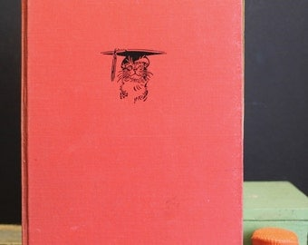 Vintage Children's Book // The Cat That Went to College // First Edition // Harvard Educated Cat