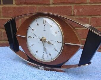 Metamec Shelf Clock - 1960's Metamec Clock - Recycled Clock