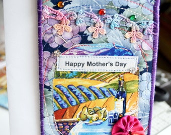 Mother's Day Card for Wine Lovers