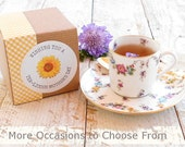 Mothers Day Tea Gift / Tea Gift Box /VARIETY TEA SAMPLER / Gift for Her / Gift for Him / 10 Samples /Gift Ready / Mom / Choose Your Occasion