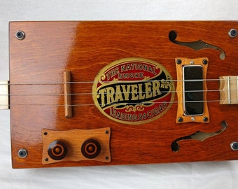 "Cigar Box Guitar ""Traveler Cigars"""