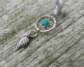 Dreamcatcher Dread Bead, Braid Bead, Hair Accessoires, Loc jewelry, Bohostyle