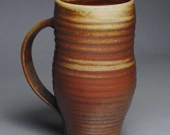 Clay Coffee Mug Beer Stein Wood Fired G38