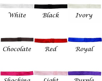 Elastic Headband - FOE Headband - Headbands for Girls - Baby Shower Gift - Gifts for Baby - Clip On Headband -Baby Headband -Infant Headband