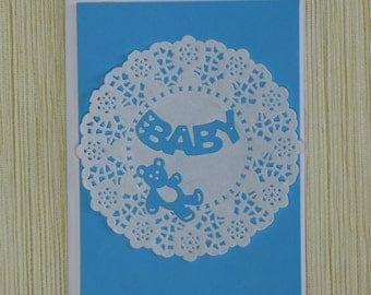 "Tarjeta ""Baby Blue"""