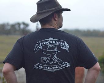 Jason's Works Black T-Shirt